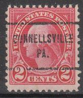 USA Precancel Vorausentwertung Preo, Locals Pennsylvania, Connellsville 634-713 - Vereinigte Staaten