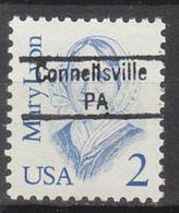 USA Precancel Vorausentwertung Preo, Locals Pennsylvania, Connellsville 843 - Vereinigte Staaten