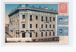 Paraguay Asuncion Palacio De Justicia Ca 1921 OLD POSTCARD 2 Scans - Paraguay