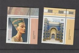 Schätze Aus Deutschen Museen: Nofrete Büste, Tacitus Tor. MiNr.: 2975, 2976. 1 Satz, 2 Marken - BRD