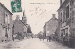 ROMAGNE - LA GRANDE RUE - 35 - Other Municipalities