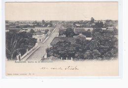 Paraguay Asuncion. Barrio De La Encarnacion  Ca 1905 OLD POSTCARD 2 Scans - Paraguay