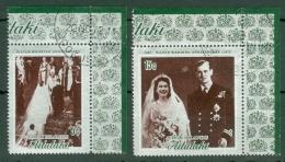 Aitutaki: 1972   Royal Silver Wedding   Used - Aitutaki