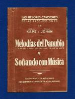 Librito De Canciones - ARTUR KAPS Y FRANZ JOHAM - Programas