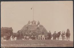 Sussex Postcard - Mount Caburn Beacon Fire, June 22nd 1911   RT144 - Autres