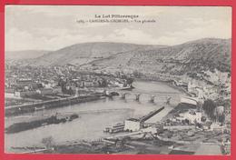 CPA-46- CAHORS-ST-GEORGES -Vue Générale . Ann.1910 - SUP ***  2 SCANS* - Cahors