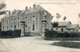 N°61074 -cpa Saint Romain De Colbosc -la Gendarmerie- - Police - Gendarmerie
