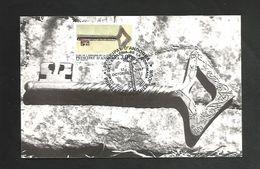ANDORRE CARTE MAXIMUM 1987 CLEF D'EGLISE - Maximumkarten (MC)