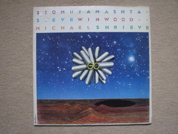 STOMU YAMASHTA STEVE WINWOOD MICHAEL SCHRIEVE - GO (LP) (ISLAND 1976) - Rock