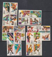 USA 1983 Olympic Games Los Angeles 6x Bl Of 4 ** Mnh (38251) - Nuovi