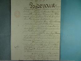 Acte Notarié  1837 Vente Laurent De Baileux à Huaux De Baileux /4/ - Manuscrits