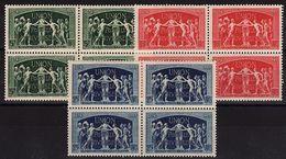 FR 108 - FRANCE N° 850/52 Neufs** Blocs De 4 U.P.U. 1949 - Neufs