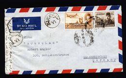 A5341) Ägypten Egypt Brief N. Gelsenkirchen Zensur - Ägypten