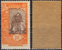 COTE DES SOMALIS Poste  89 ** MNH Sans Charnière Femme Somali 1 - Nuovi