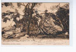 Paraguay San Berdardino. El Camino Para Altos 1907 OLD POSTCARD 2 Scans - Paraguay