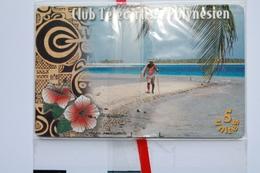 PF 81 -  TELECARTE DE POLYNESIE  CLUB TELECARTISTE  N/S/B - French Polynesia