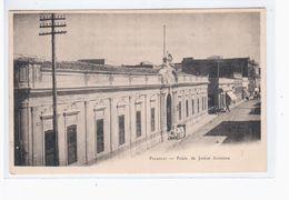 Paraguay Asuncion Palais De Justice Ca 1905 OLD POSTCARD 2 Scans - Paraguay