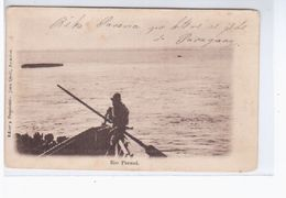 Paraguay Asuncion Rio Parana Ca 1905 OLD POSTCARD 2 Scans - Paraguay