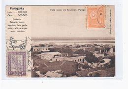 Paraguay Asuncion Vista Geral Ca 1910 OLD POSTCARD 2 Scans - Paraguay
