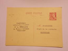 Marcophilie  Cachet Lettre Obliteration Timbre - Entier Postal N°364 (1169) - Entiers Postaux