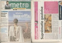 ASTERIX : Journal METRO 1308 , 2008 - Libros, Revistas, Cómics