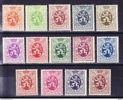 BELGIQUE, N* 276/88A, Lion Héraldique, TB, **, (neuf Sans Charniére Mais REGOMME). (LOT202) - 1929-1937 Lion Héraldique