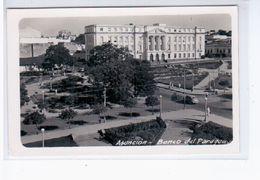 Paraguay Asuncion Banco Ca 1930 OLD POSTCARD 2 Scans - Paraguay