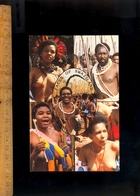 SWAZILAND Africa : Faces Of African Peoples Breast Nude Girls Girl Women Woman Femme Africaine Seins Nus - Swaziland