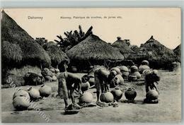 52229845 - Dahomey Abomey Fabrique De Cruches De Jarres Kruege - Benin