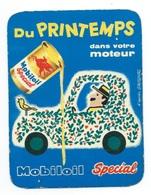CALENDRIER DE POCHE 1959 MOBILOIL Huile Pour AUTOMOBILE Garage Moderne ARCACHON Ave Général DE GAULLE - Calendars