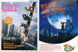 ASTERIX : Magazine AIRMAG 03 2009 Le Parc - Libros, Revistas, Cómics