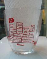 AC - COLA TURKA - MERSIN ILLUSRATED GLASS FROM TURKEY - Glasses