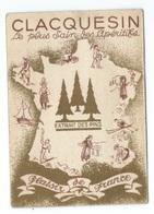 CALENDRIER DE POCHE 1937 CLACQUESIN  Apérétif - Calendars