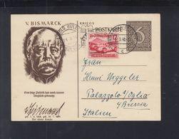 Dt. Reich WHW GSK Mit ZuF 1940 Nach Italien - Briefe U. Dokumente