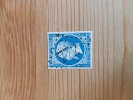 N°14, 20 Cts Bleu, GC 772, Castres Sur L' Agout, Tarn. - Marcophilie (Timbres Détachés)