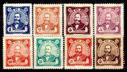 Honduras-0008 - 1896: Y&T N. 76/83 (+/sg) Hinged/NG - - Honduras