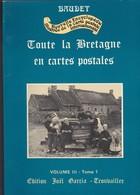 LIVRE BAUDET--Toute La Bretagne En Cartes Postales--( Nouvelle Encyclopédie Illustrée )--tome 1---voir 2 Scans - Livres