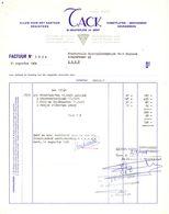 Factuur Facture - Alles Voor Kantoor Tack  - Gent 1968 - Printing & Stationeries