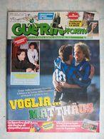GUERIN SPORTIVO=NR.3 DEL 1990=MAXIPOSTER SCHILLACI+BECKER+ENCICLOPEDIA MONDIALI - Sport