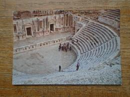 """Jordan , Grand Théâtre """""""" Beaux Timbres Et Cachet  """""""" - Jordan"""