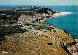 - Ref-W771- Morbihan - Ile De Groix - Vue Aerienne Des Grands Sables Et Les Sables Rouges - Camping - Campeurs - - Groix