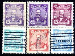Honduras-0011 - 1896: Valori Della Serie Y&T N. 76/83 (o) Used - - Honduras