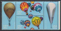 USA 1983 Bicentenary Of Manned Flight / Balloons 4v ** Mnh (38251N) - Nuovi
