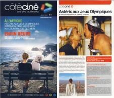 ASTERIX : Magazine COTE CINE 1 , 2008 - Libros, Revistas, Cómics
