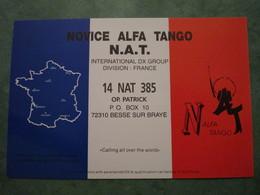 NOVICE ALFA TANGO N.A.T. - Radio
