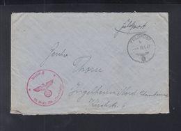 Dt. Reich Feldpost Waffen SS 100. SS Panzer-Division 1941 - Briefe U. Dokumente
