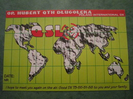 OP. HUBERT QTH DLUGOLEKA - Radio