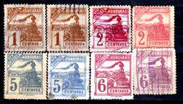 Honduras-0013 - 1898: Valori Della Serie Y&T N. 84/91 (+/sg/o) Hinged/NG/Used - - Honduras