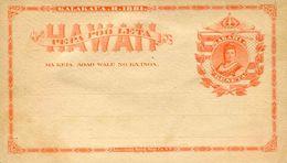 Entier Postal De 1882 Sur CP - Hawaii