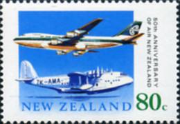 Ref. 162432 * NEW *  - NEW ZEALAND . 1990. 50th ANNIVERSARY OF AIR NEW ZEALAND . 50 ANIVERSARIO DE LA COMPAÑIA AEREA AIR - New Zealand